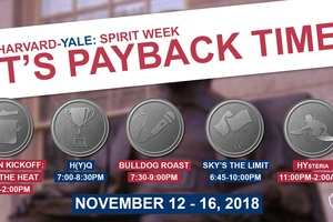 Harvard-Yale Spirit Week Events