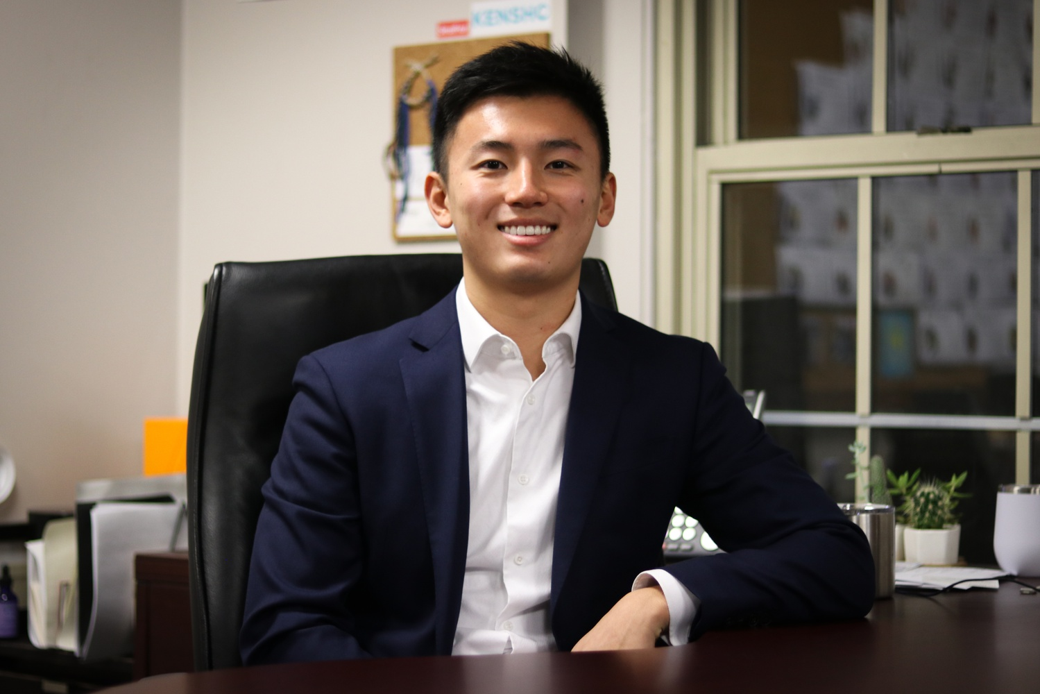 Charlie B. Zhu '20 will serve as the Business Manager of the 146th Guard.