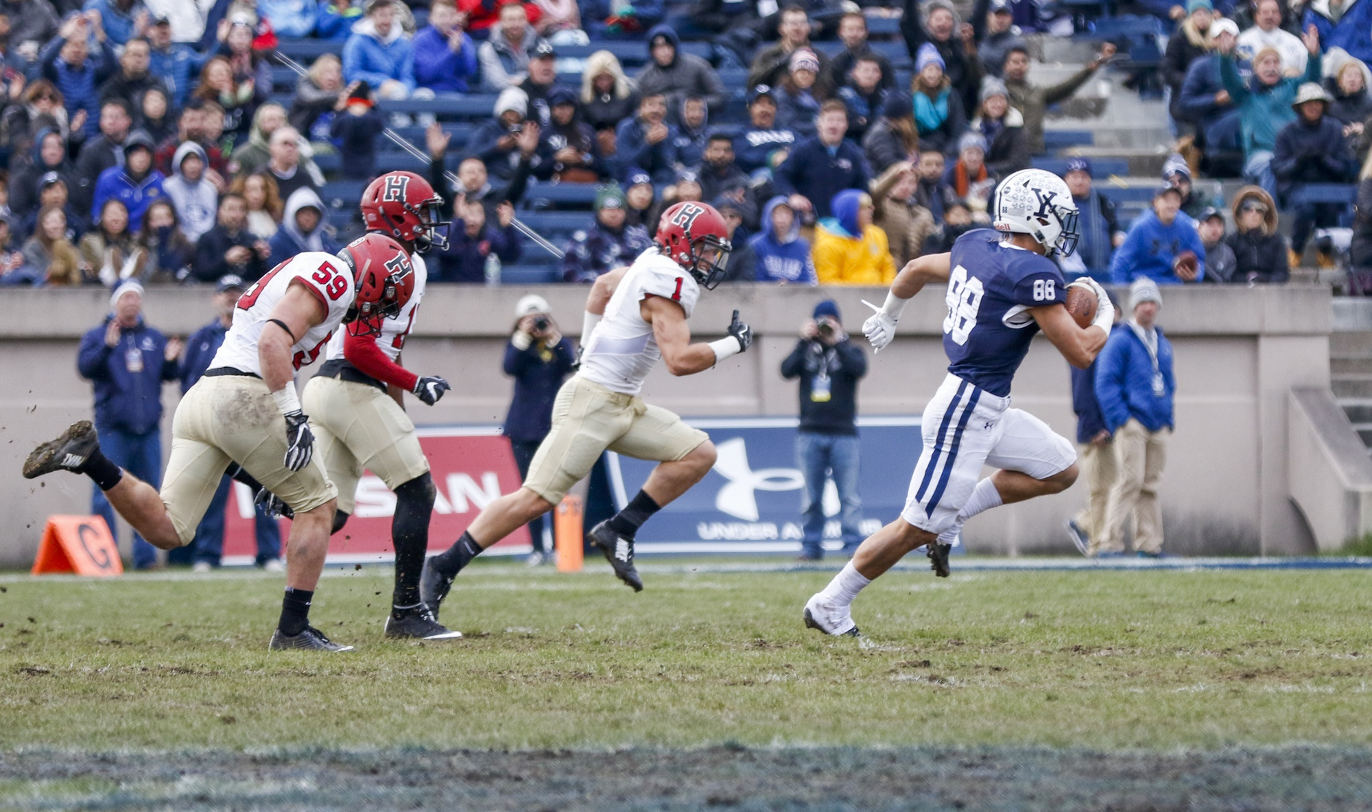 Last year, then-sophomore receiver JP Shohfi racked up 86 receiving yards and a touchdown in Yale's 24-3 win.