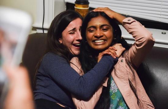 Sruthi and Julia