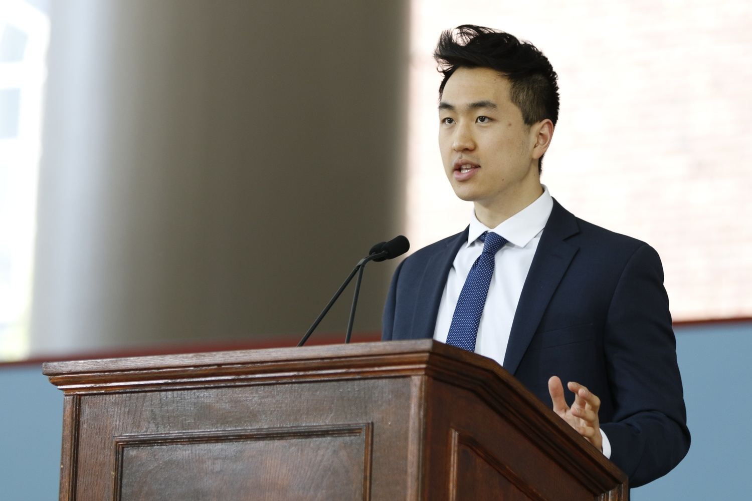 Jin K. Park '18-'19 is the first DACA recipient to ever win a Rhodes scholarship.