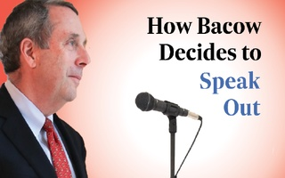 Bacow Graphic Speak Out