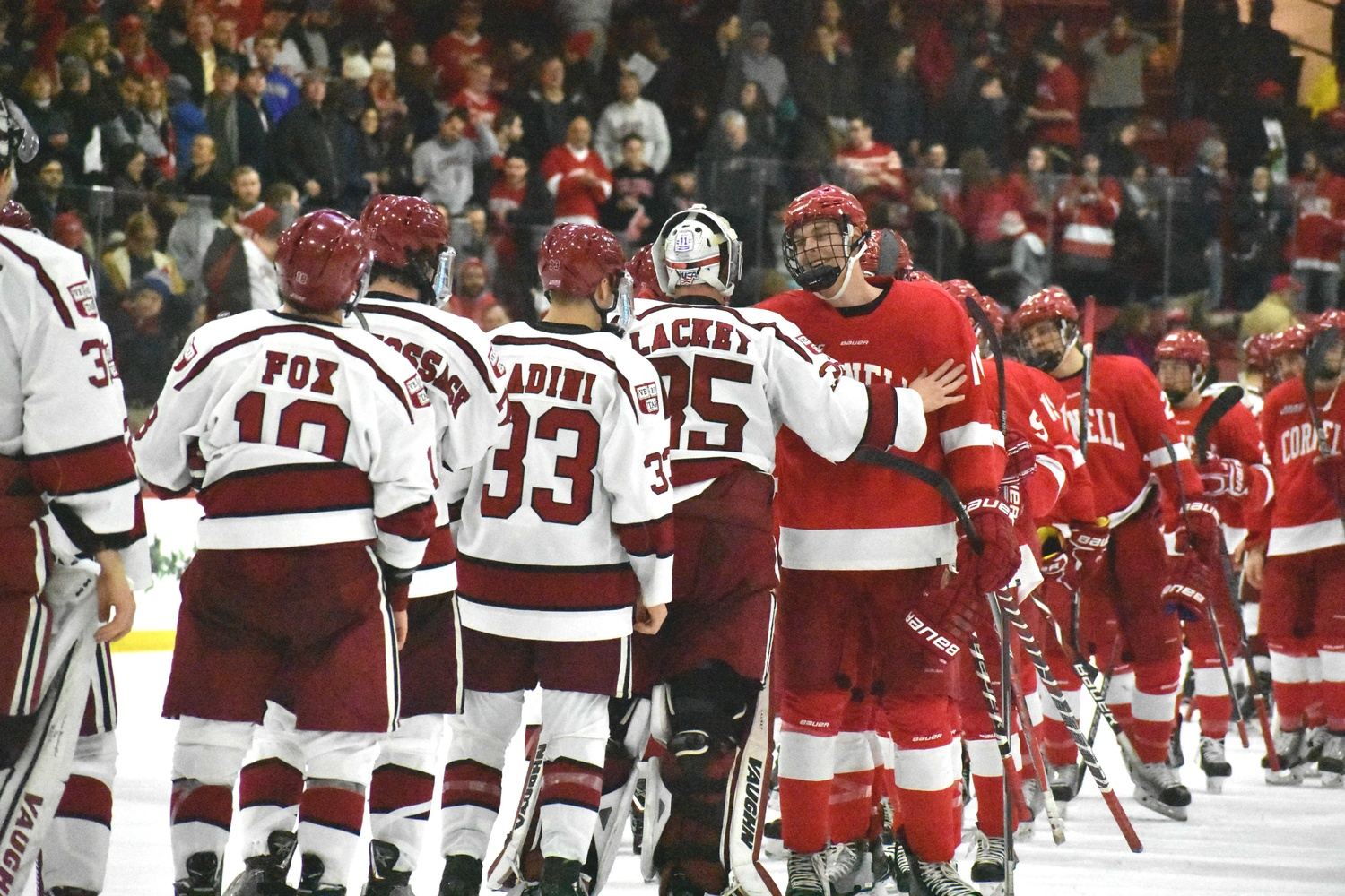 In 2017-18, Cornell swept Harvard in two meetings; in 2016-2017, the Crimson defeated the Big Red in three clashes. This time, the two teams will see each other at least thrice to decide which squad comes on top.