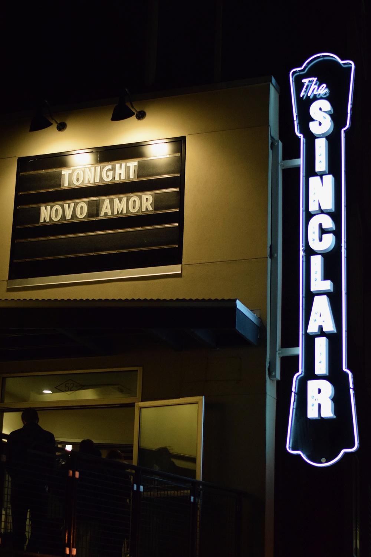 Novo Amor at the Sinclair