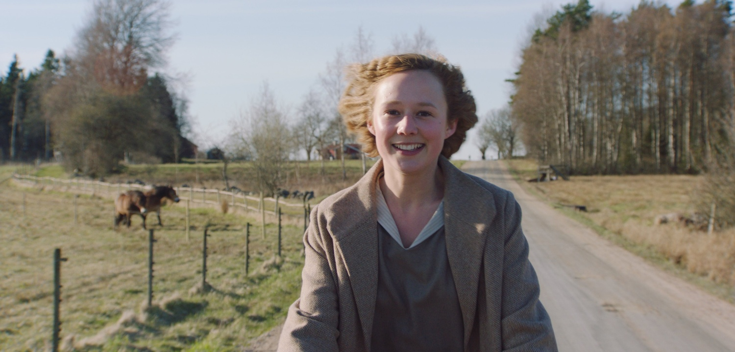 "Alba August stars in ""Becoming Astrid"" (2018), directed by Pernille Fischer Christensen."