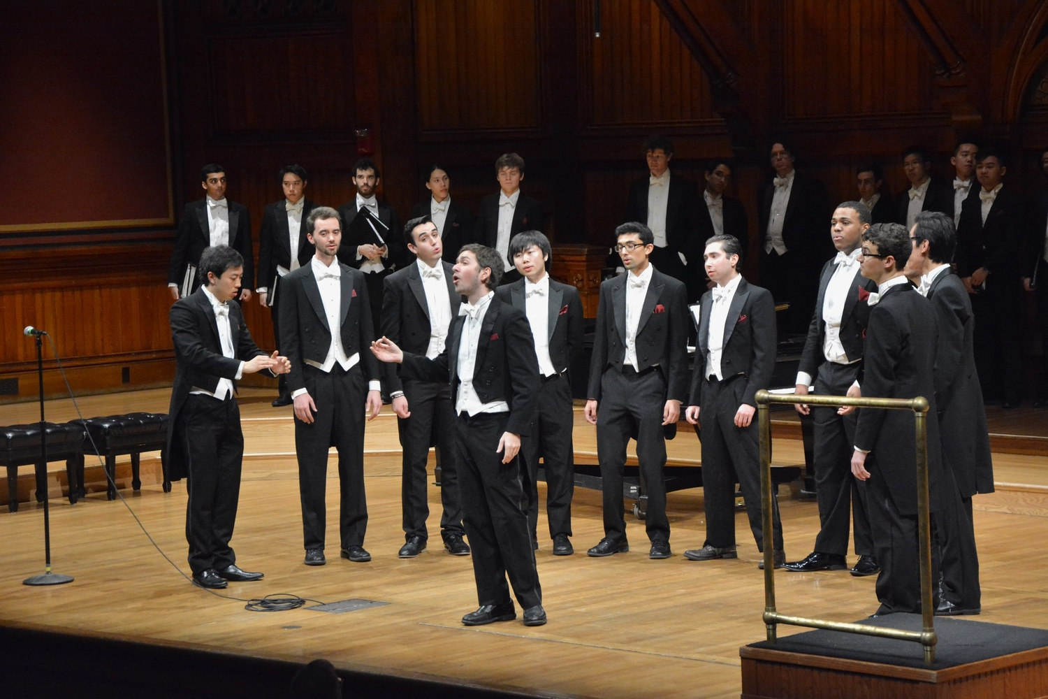 The Harvard Glee Club performs in 2018.