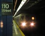 纽约地铁库存图片