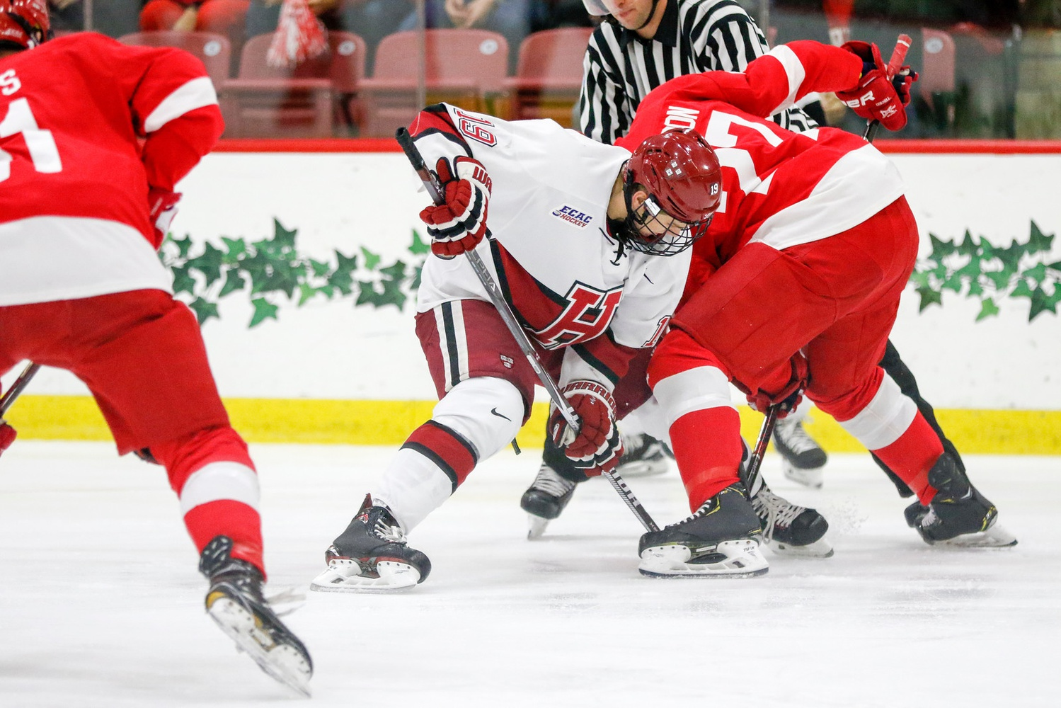 Both rivals entered Saturday's matchup with Harvard's victory at Madison Square Garden one week prior still fresh in their memories.