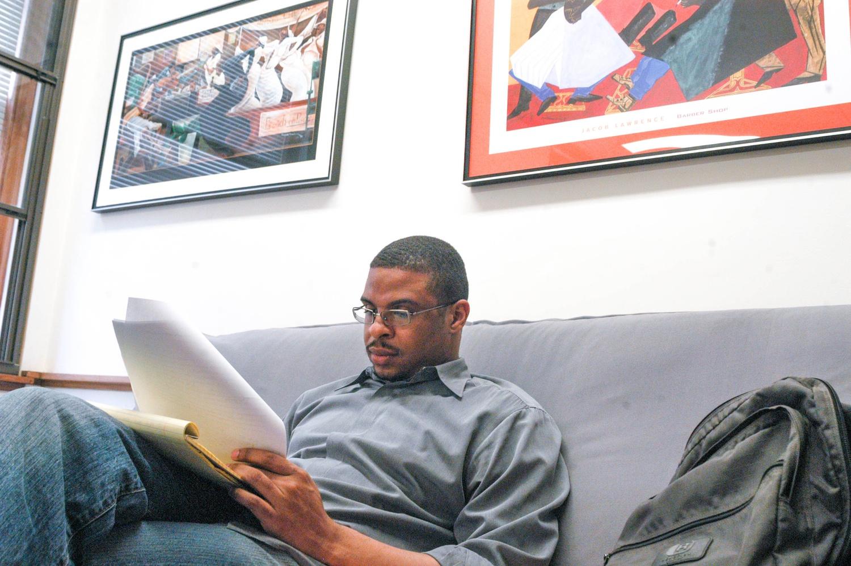 Economics Professor Roland G. Fryer, Jr., depicted in a 2006 photo.