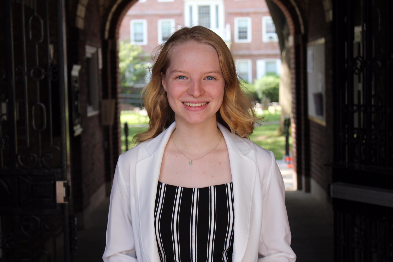 Olga Romanova '19 was one of three international Rhodes winners this year.