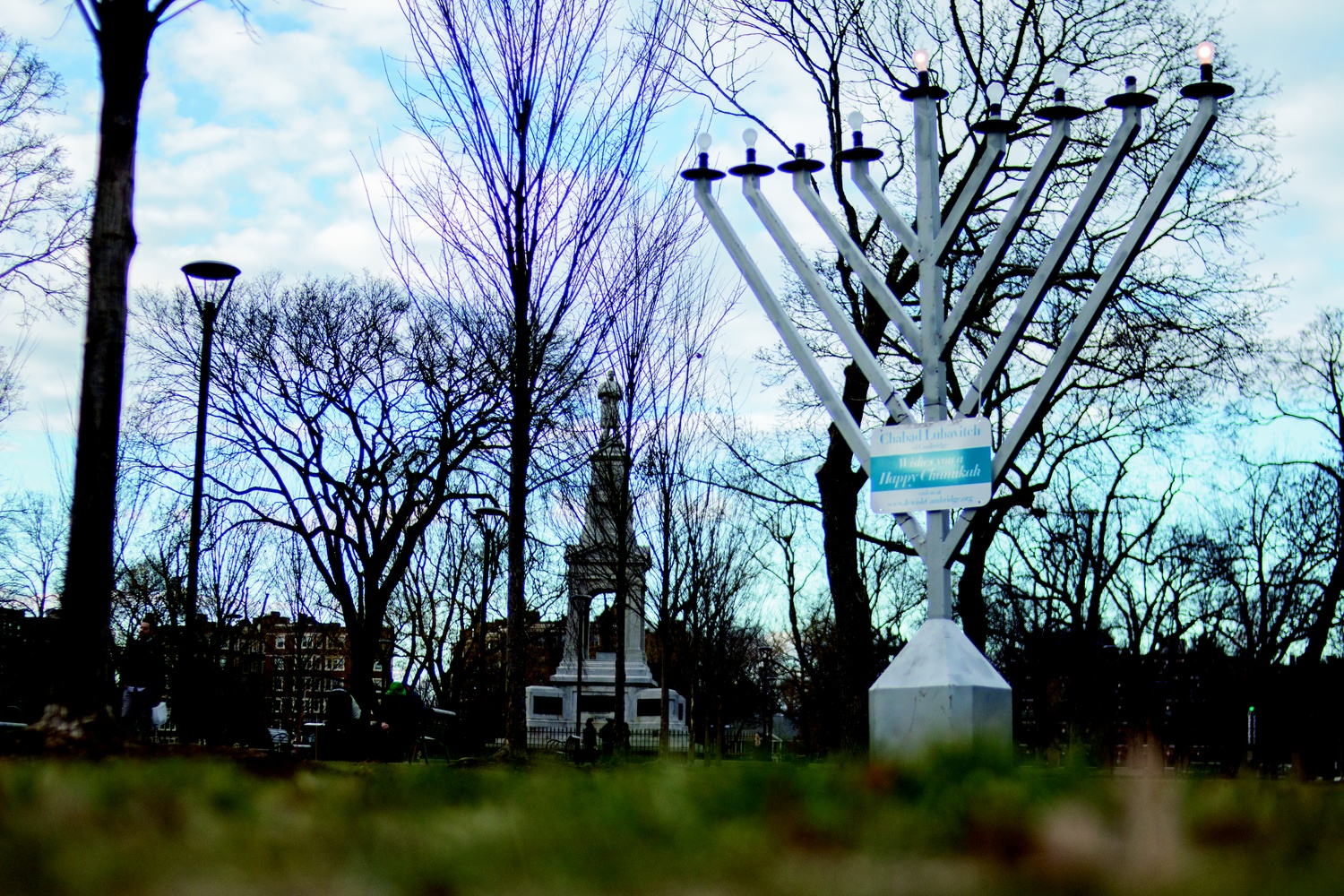 Cambridge Common Menorah