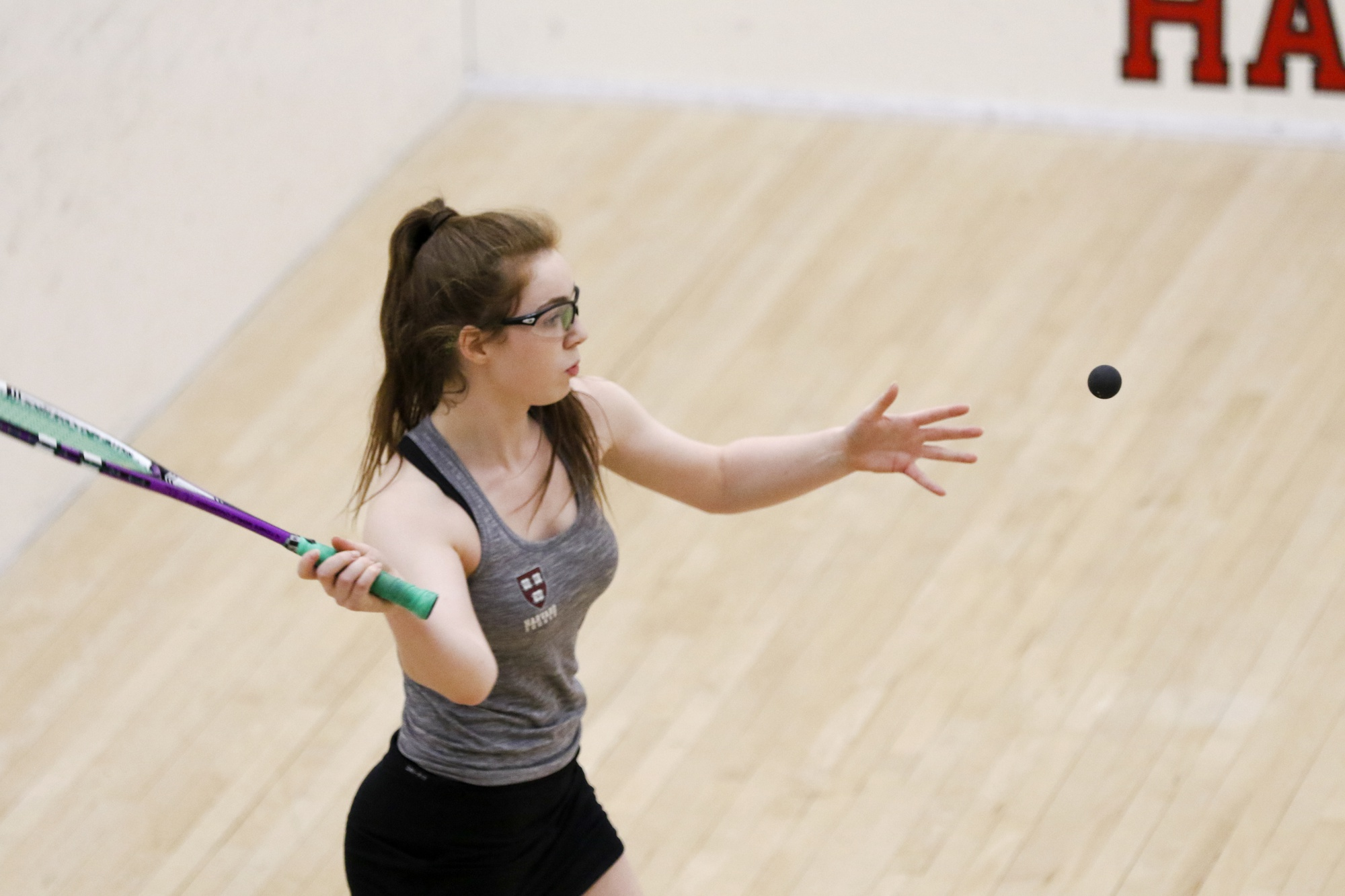Dartmouth was no challenge for the Harvard men's and women's squash teams.