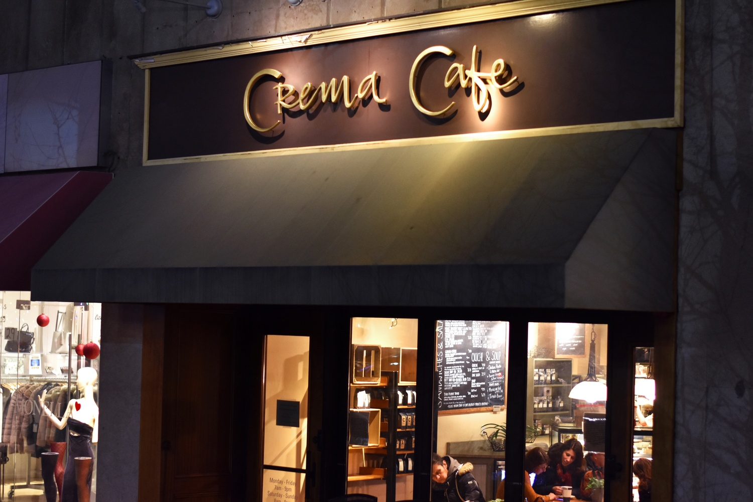 Crema cafe in Harvard Square is closing before the end of the year.
