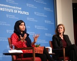Malala at the IOP