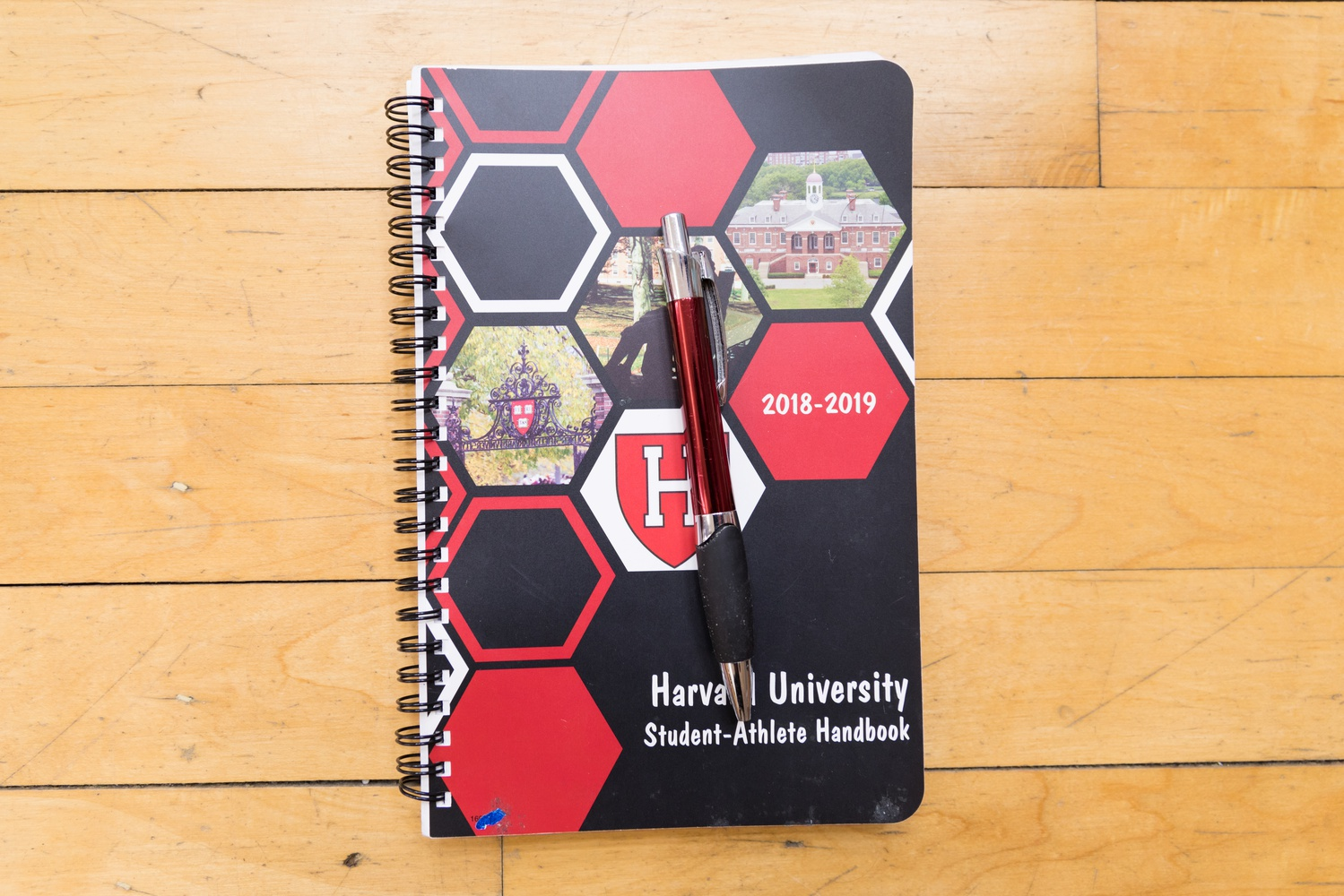 Brownell carries a small notebook in his bag to visually prepare and script out his upcoming matches.