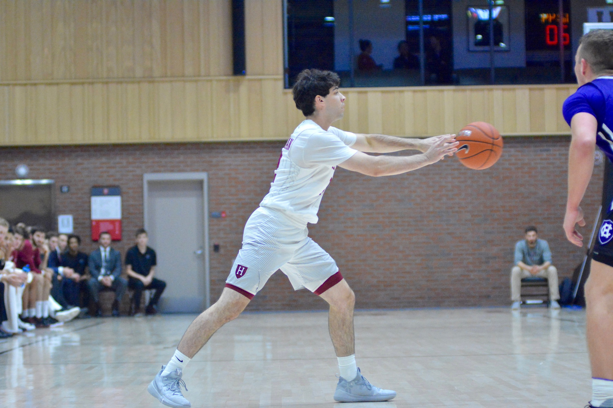 Point guard Spencer Freedman has been a dangerous weapon from three alongside his passing acuity.