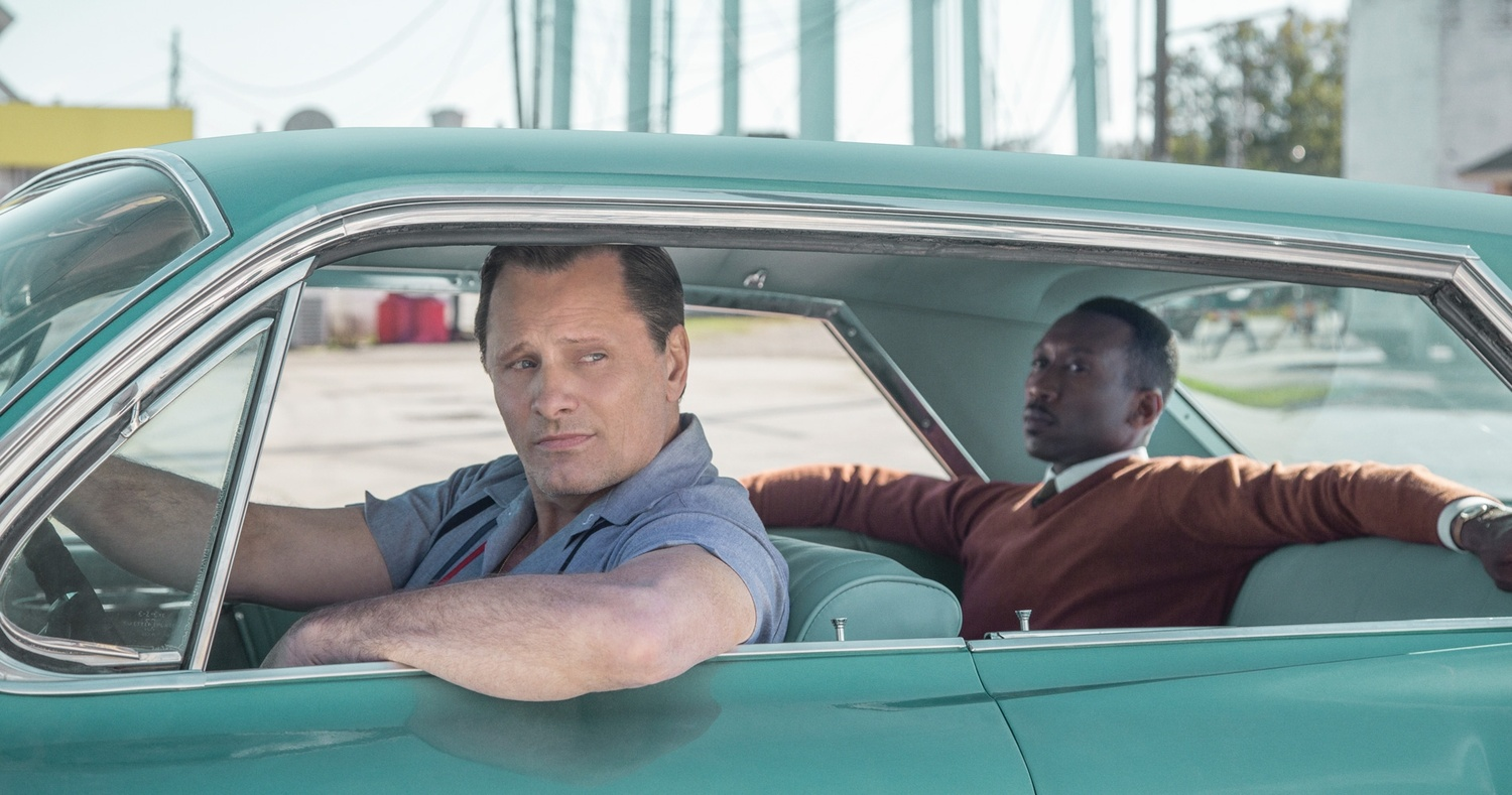 """Viggo Mortensen and Mahershala Ali star in """"The Green Book"""" (2018), directed by Peter Farrelly."""