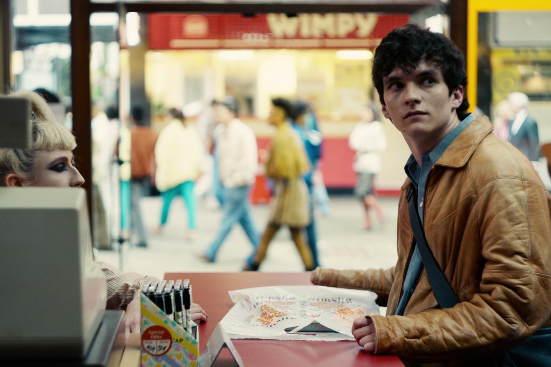 "Fionn Whitehead stars in ""Bandersnatch."""