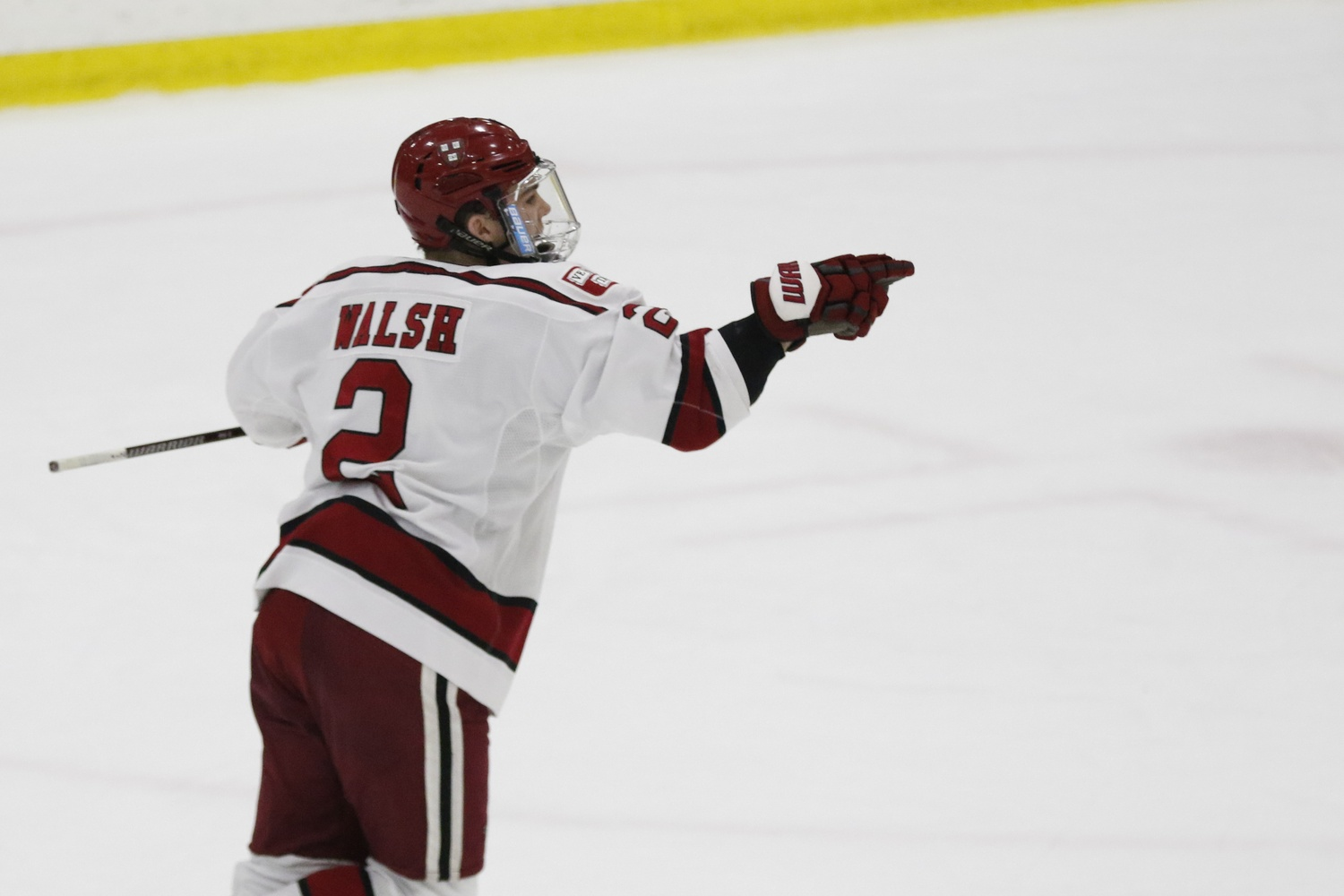 Reilly Walsh's overtime tally snapped a nine-game goalless streak for the offensive-minded defenseman.
