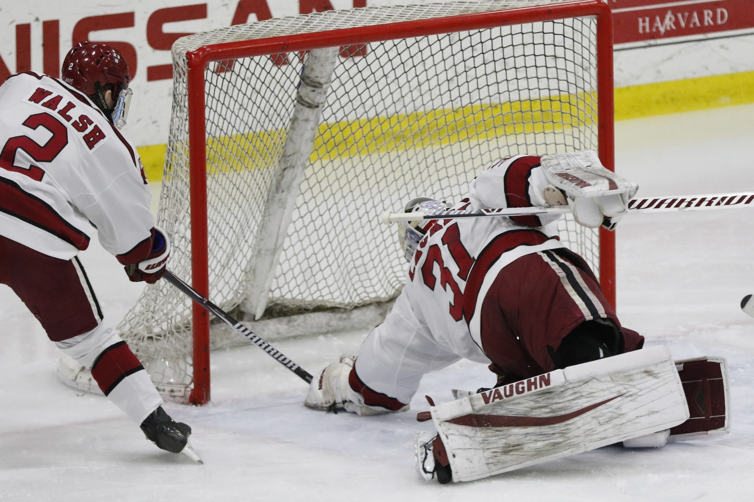Michael Lackey has proven to be an effective, reliable backstop this season, and has maintained a .936 save percentage over January's slate of games.
