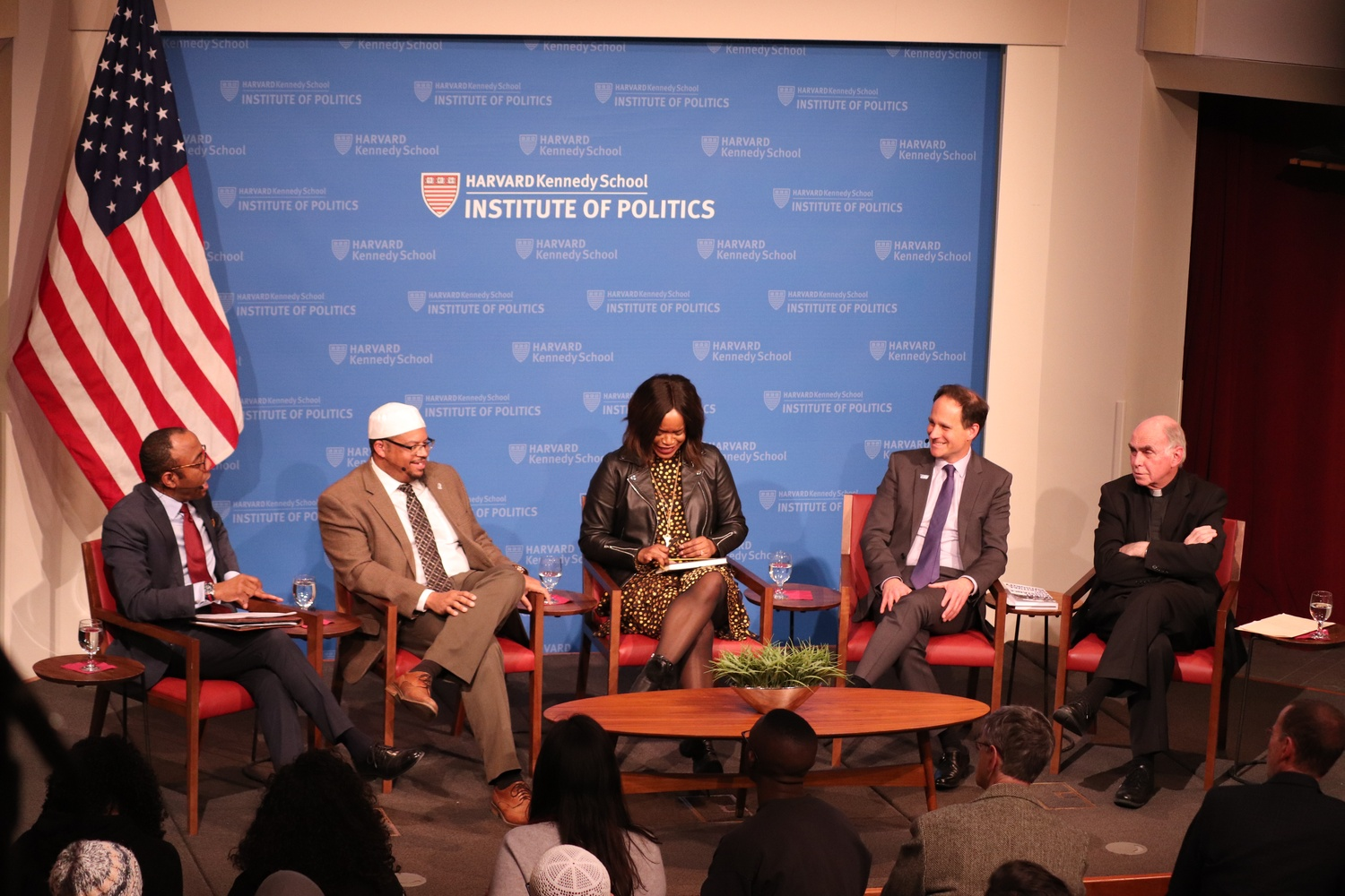 "Members of the panel ""Moral Resistance: When Faith & Activism Meet in the Streets"" spoke about how faith impacts their advocacy at the John F. Kennedy Jr. Forum Wednesday evening."
