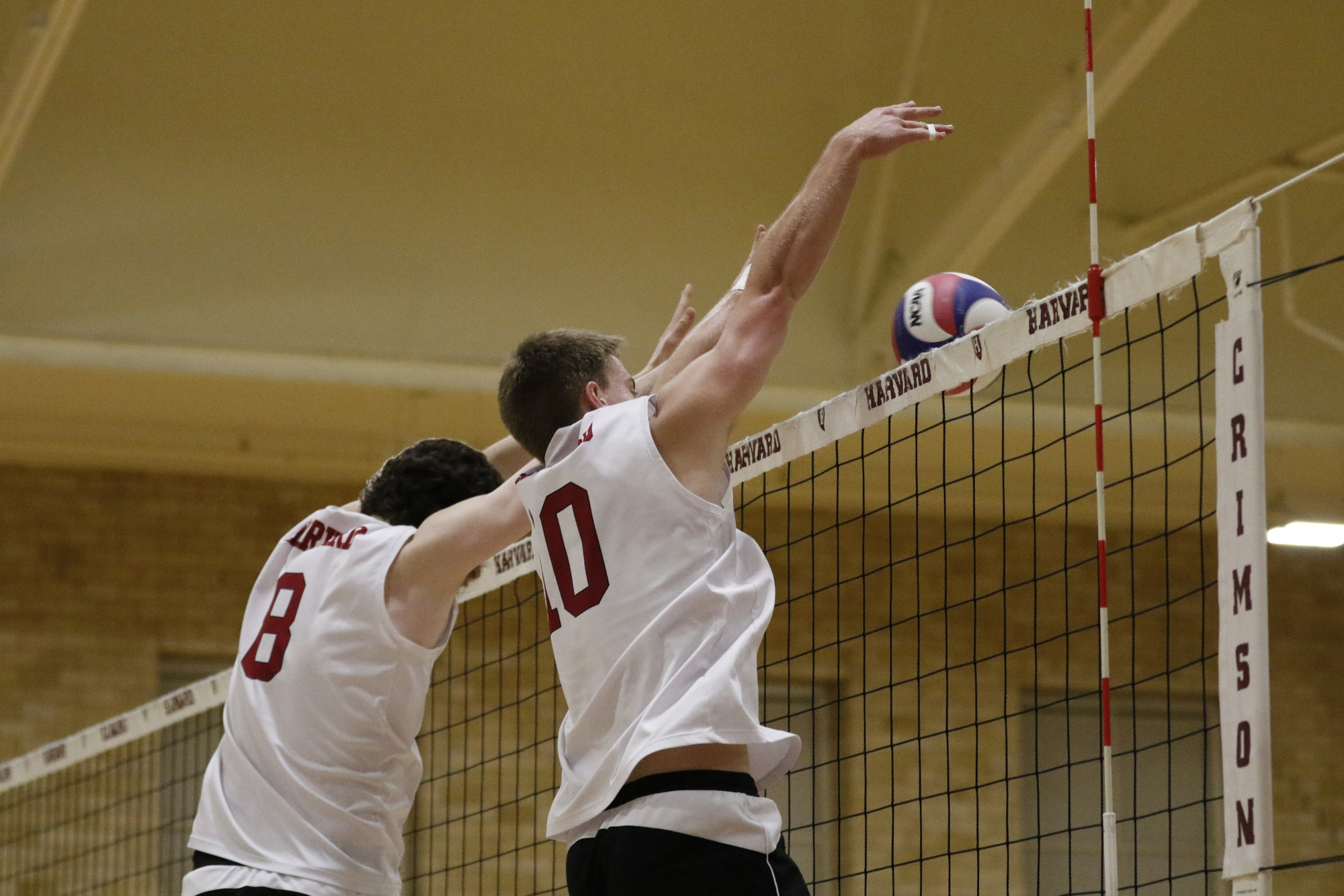 The Crimson won three sets on the weekend, but could not pull out a victory.