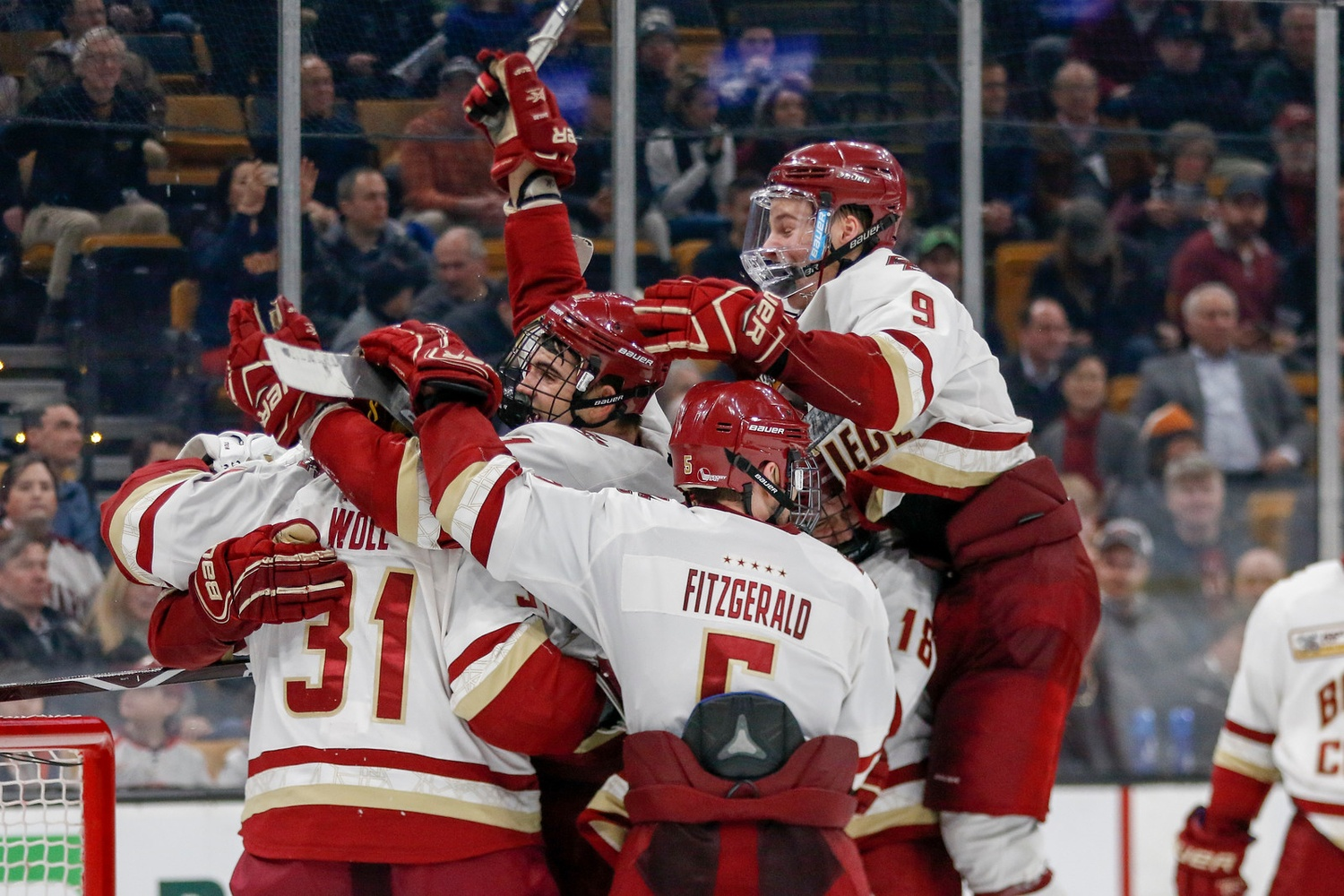 The Eagles topped a ranked Crimson squad that, on account of a recent surge in performance, many felt could contend for the Beanpot title this year