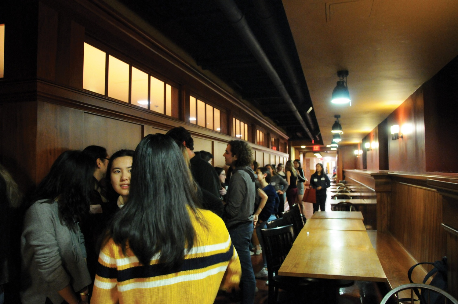 The Fleur-de-Lis, a Registered Social Organization, hosted an event during the first-ever RSO rush in February 2019.