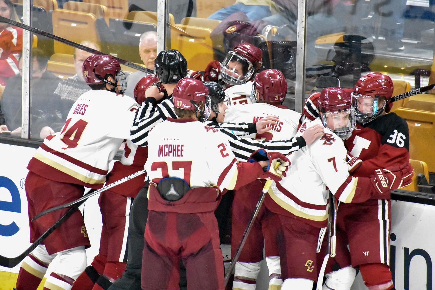The intensity of the Beanpot is always high, as storied programs with long histories make for fierce competitors.