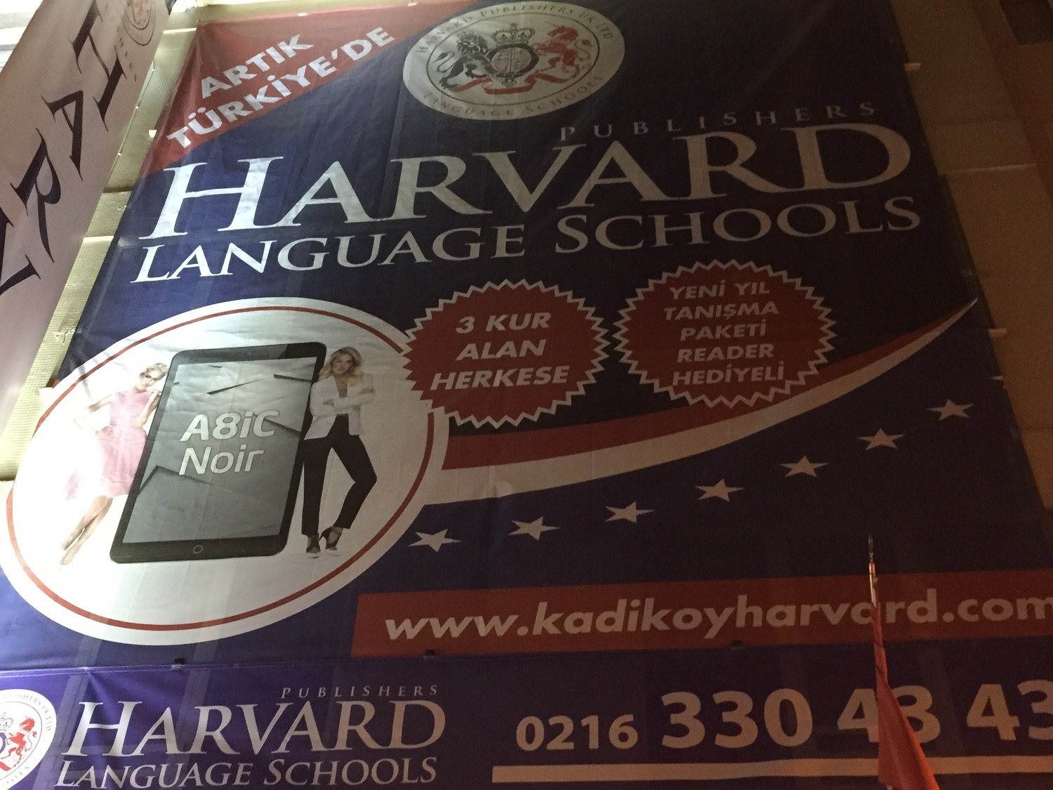 A Turkish language school uses Harvard's trademark without permission.