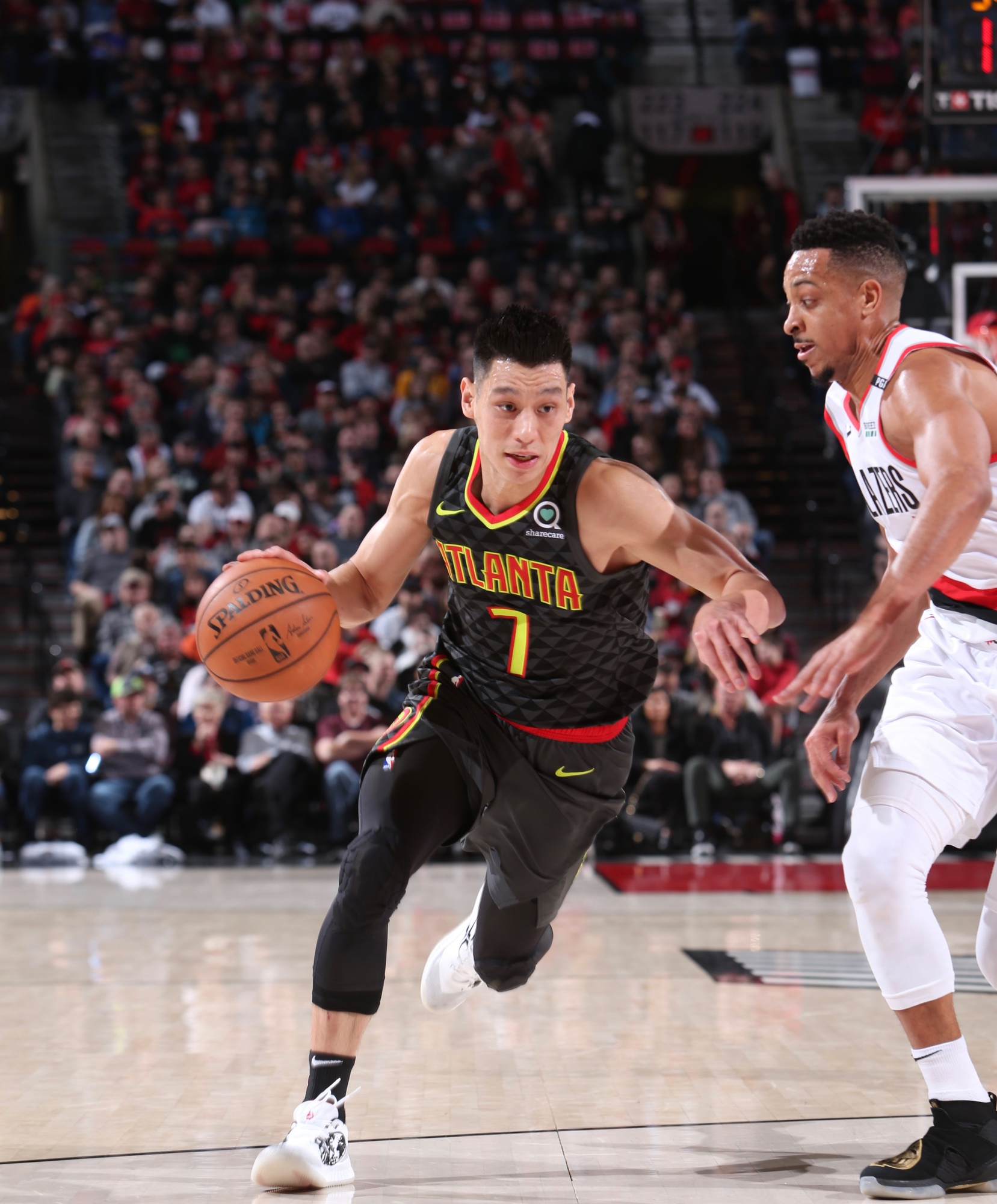 Jeremy Lin is currently in his ninth season in the NBA.