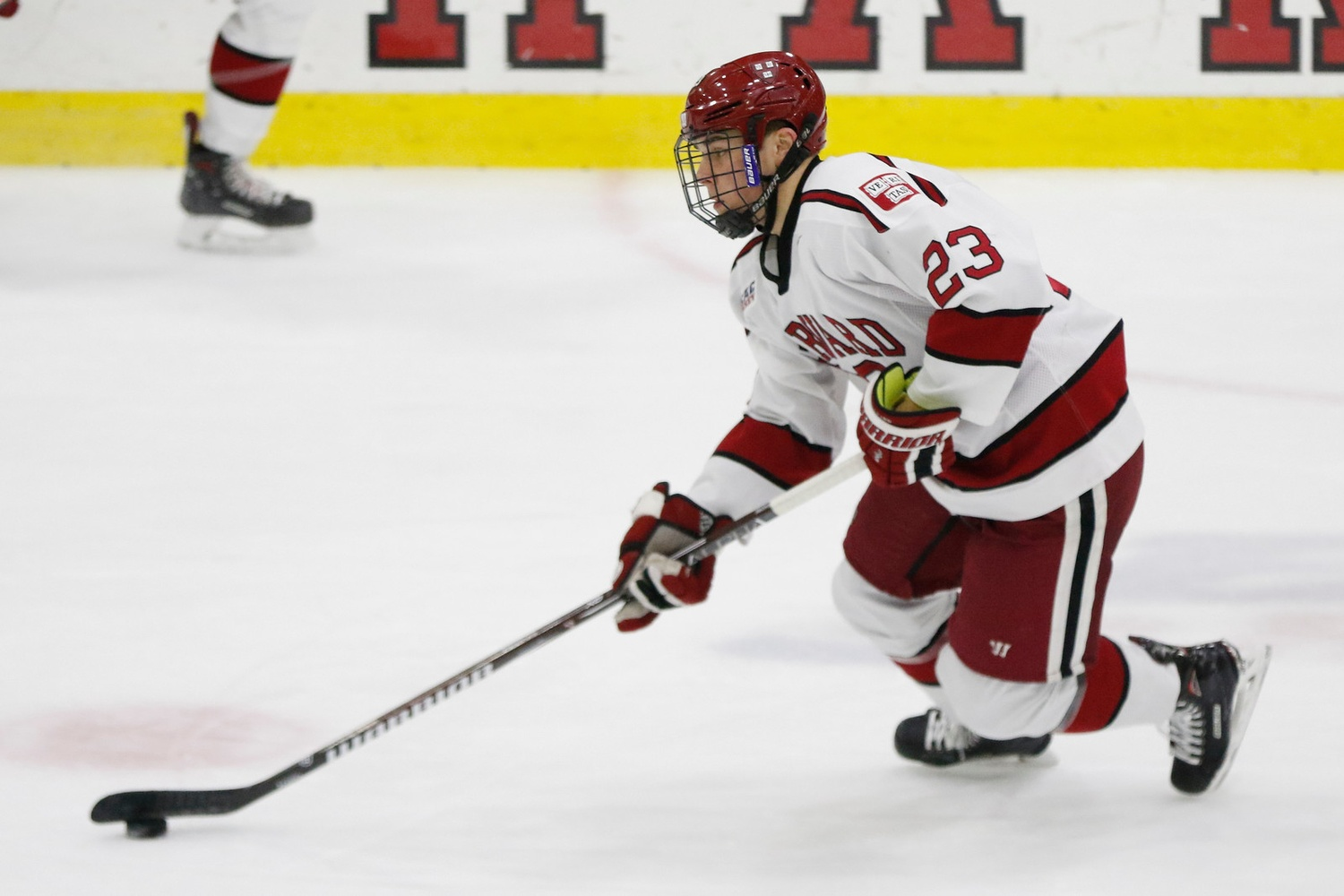 On Friday night, the Crimson skates in its first match since a Beanpot semifinal loss, looking to right the ship after Monday's disappointment.
