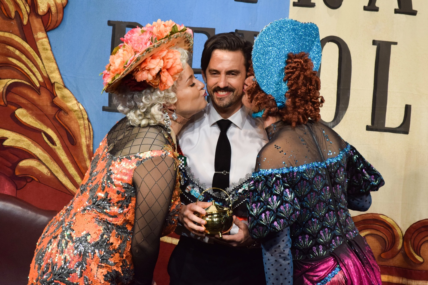 Milo Ventimiglia, who stars in the award-winning hit television drama This Is Us, was honored as the  2019 Man of the Year by Hasty Pudding Theatricals in Farkas Hall Friday night..