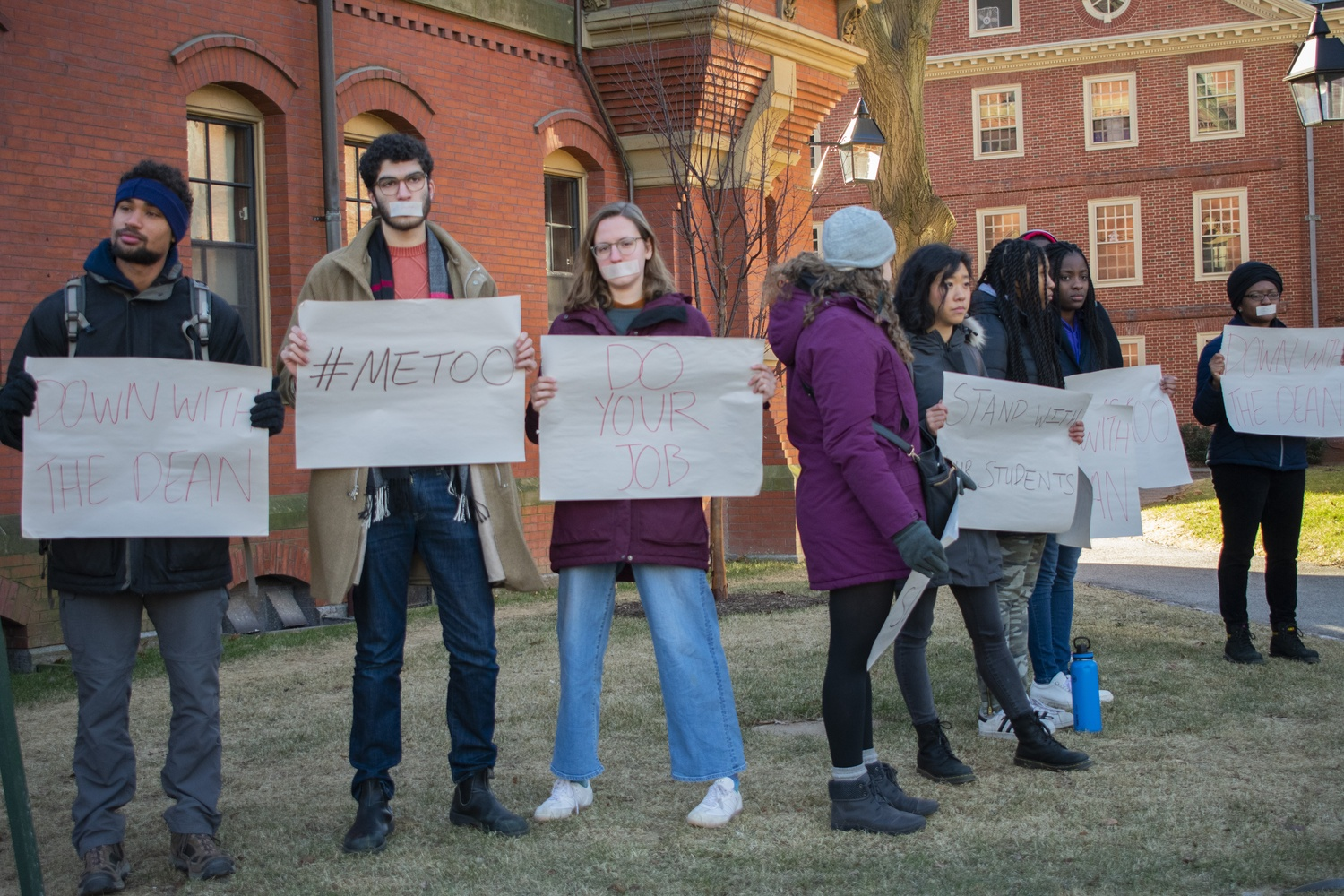 Students Call on Harvard Administrators to Remove Winthrop