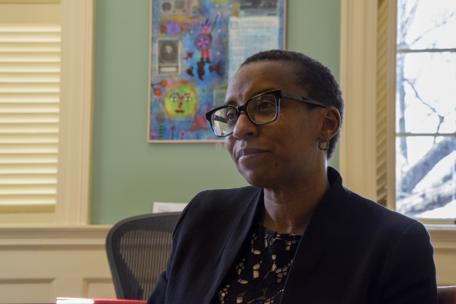 Gay underscored Harvard's efforts to support faculty of color.