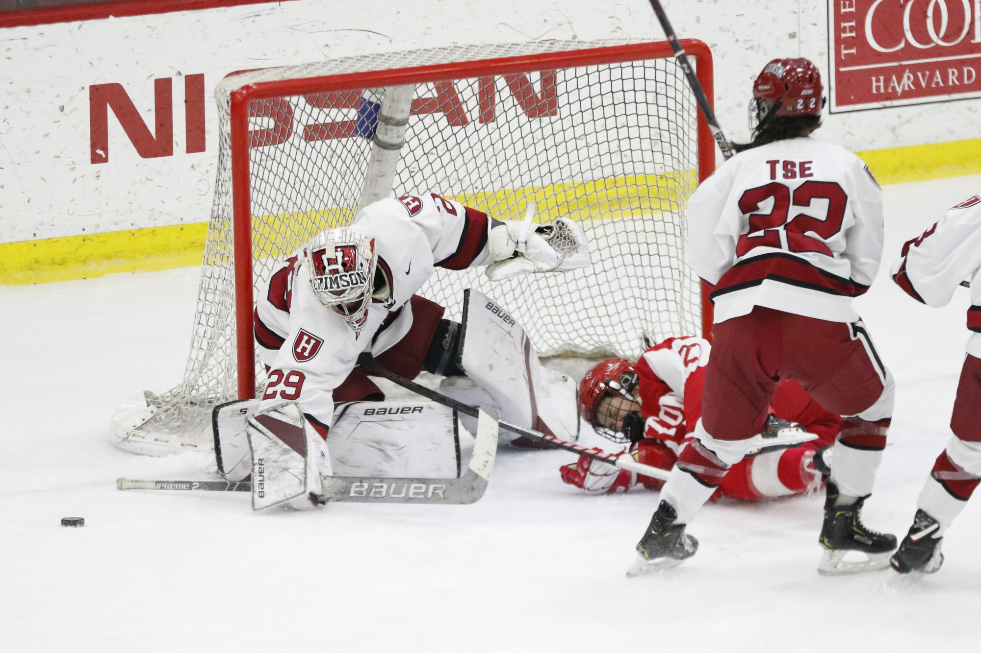 In 2015, the Crimson knocked off then-No.1 BC to capture the Beanpot. It was the first for Harvard since 2010.