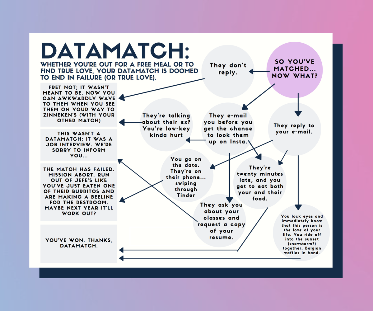 How will your Datamatch experience go?