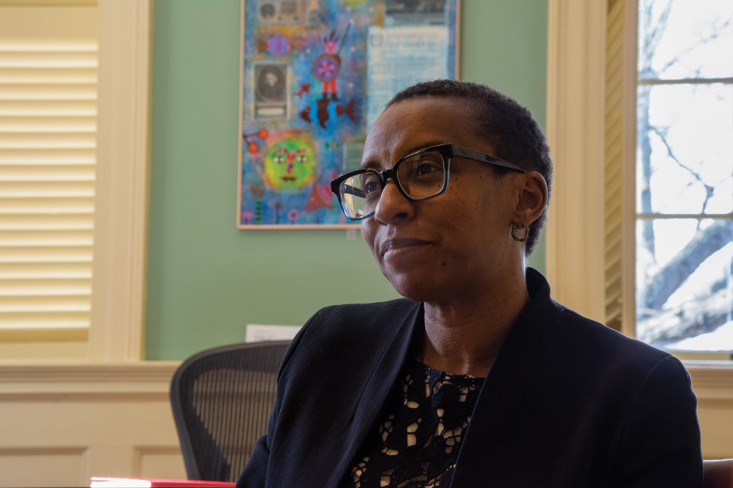 Dean of the Faculty of Arts and Sciences Claudine Gay discussed an ongoing search for faculty who specialize in ethnic studies.