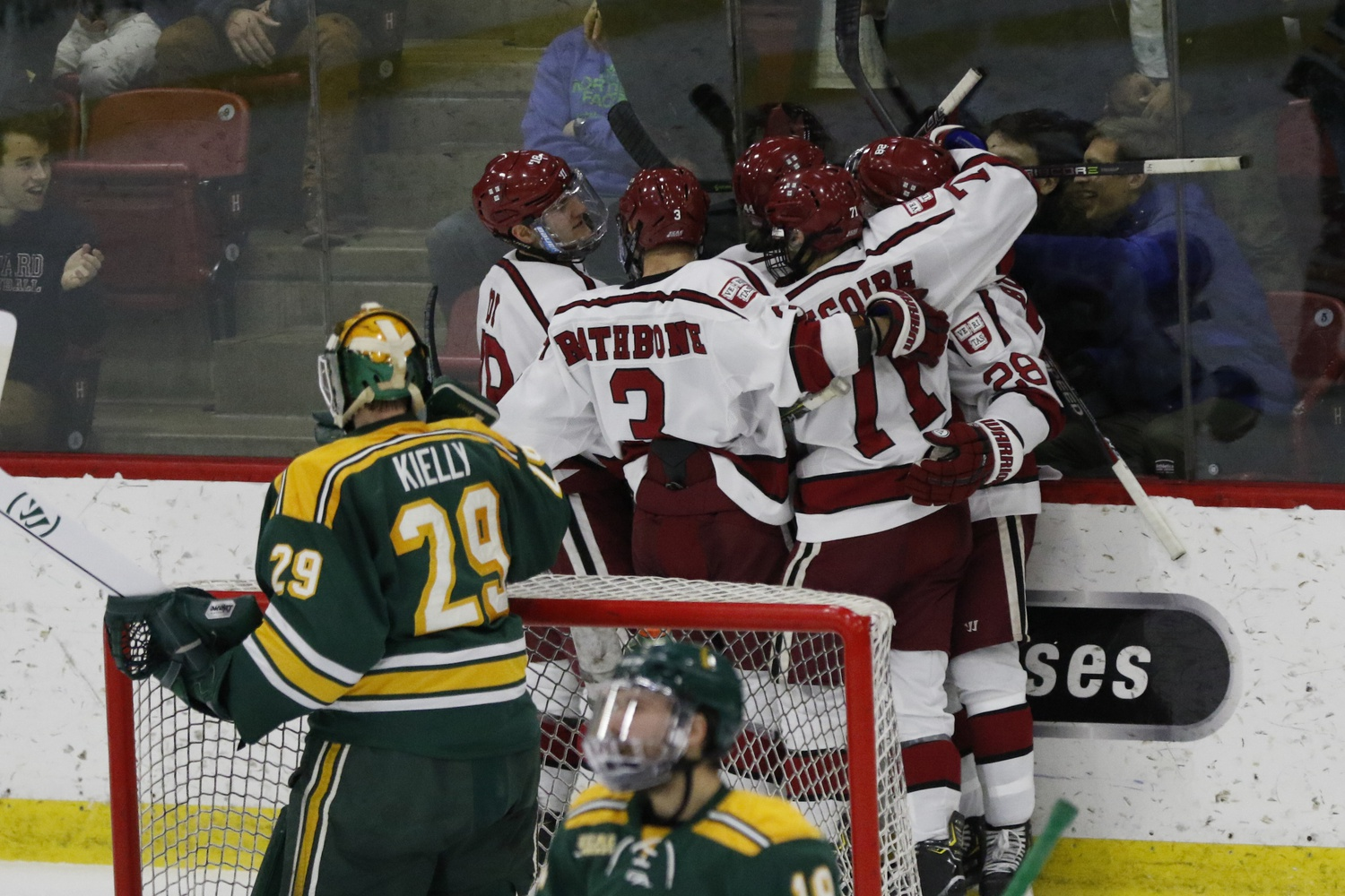 The Golden Knights have proven their effectiveness even when facing a deficit against the Crimson, so Harvard can never celebrate too soon.