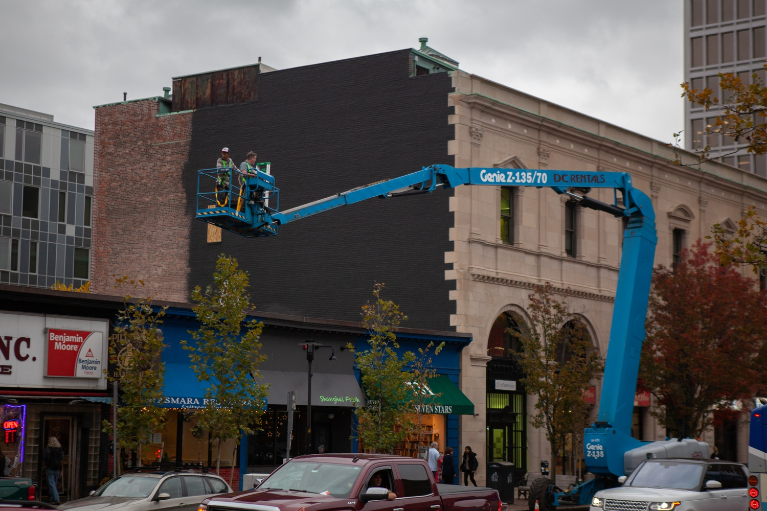 The Central Square Mural Project is an initiative spearheaded by the Central Square Business Association and the Cambridge Arts Council.