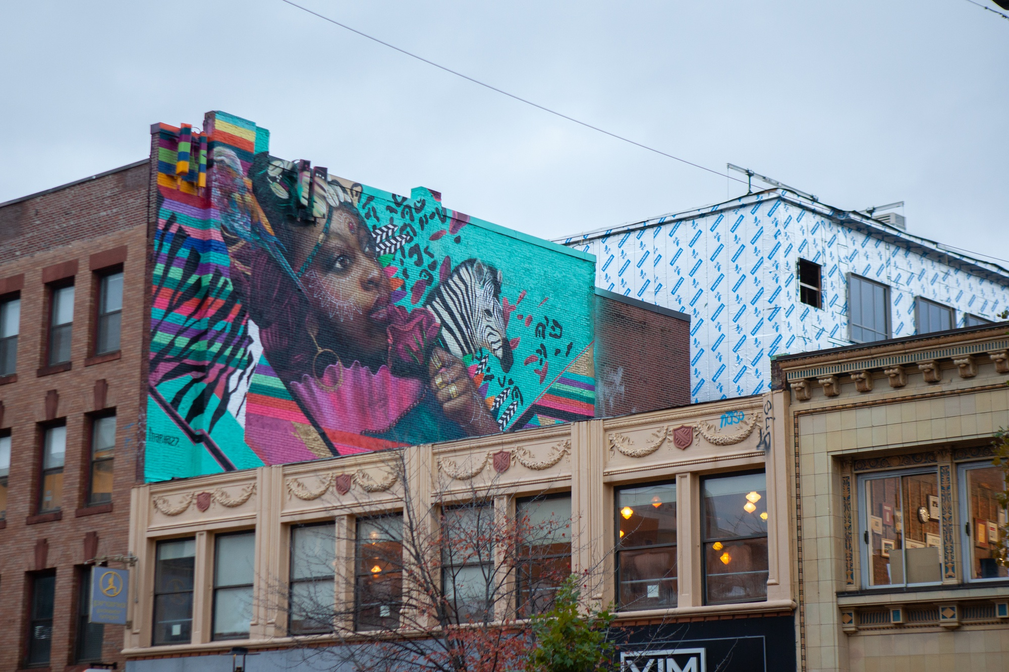 Central Square has long been home to an array of murals.