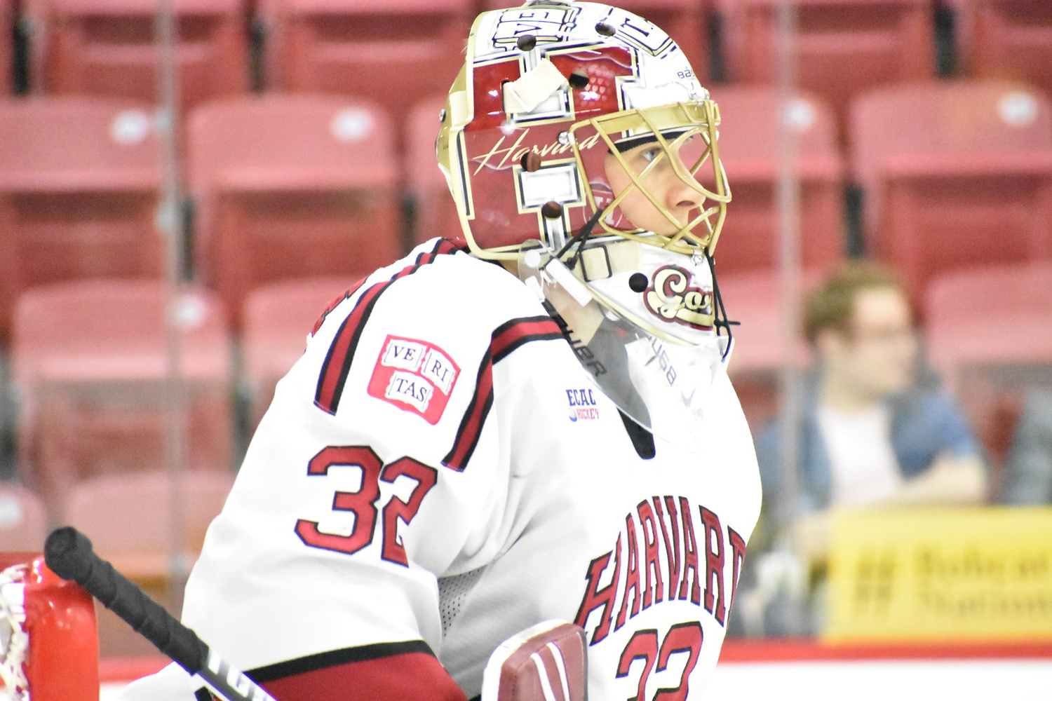With senior starter Michael Lackey on the shelf due to a lower-body injury, junior Cam Gornet stepped up and made 28 saves in his first win of the season.