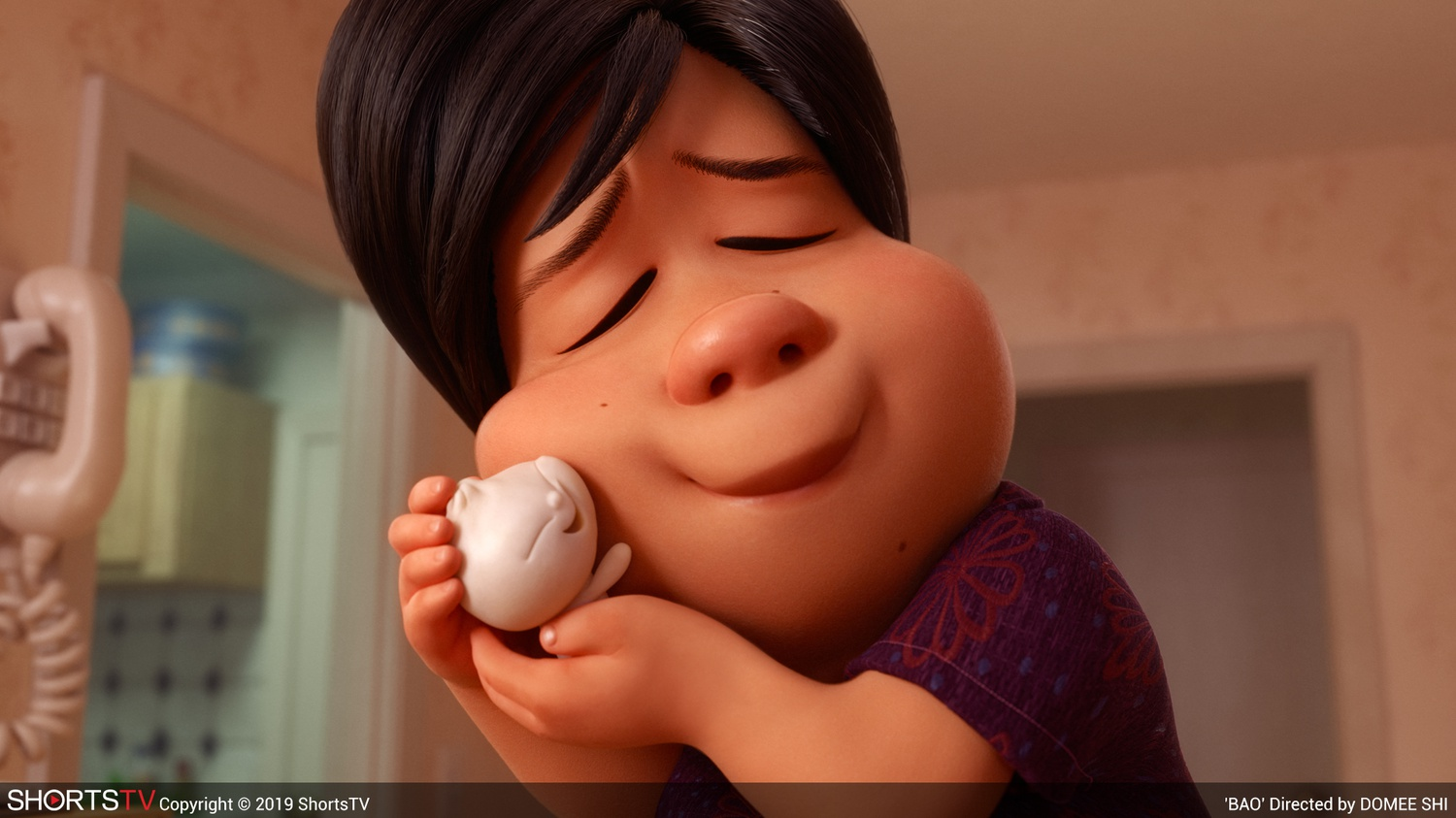 """""""Bao"""" (2018) is an animated, Oscar-nominated short film directed by Domee Shi."""