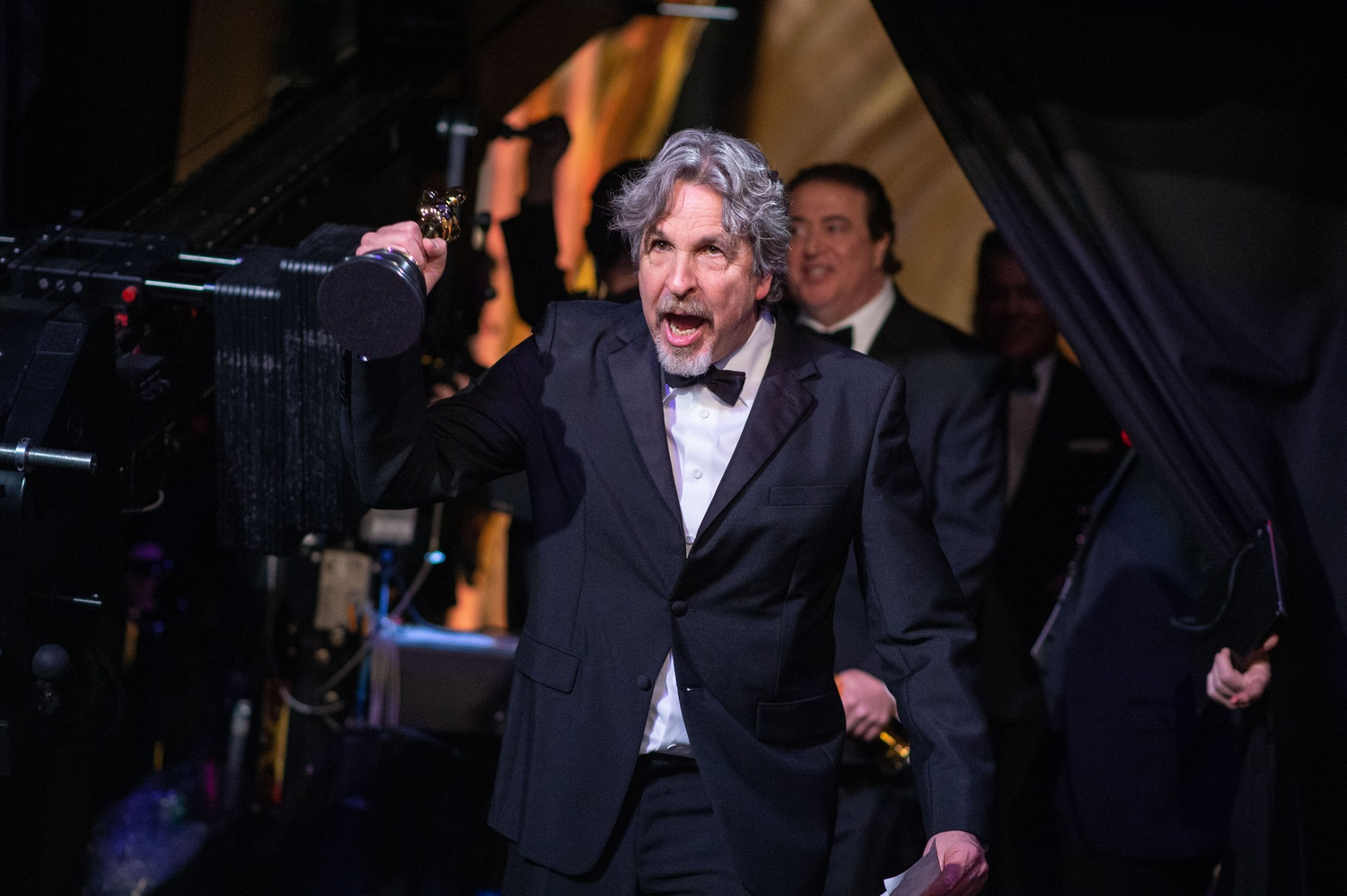 Peter Farrelly accepts the Oscar® for original screenplay at the 91st Oscars.