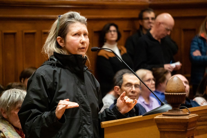 Cambridge resident Carole Winkler shares her views regarding the proposed moratorium.