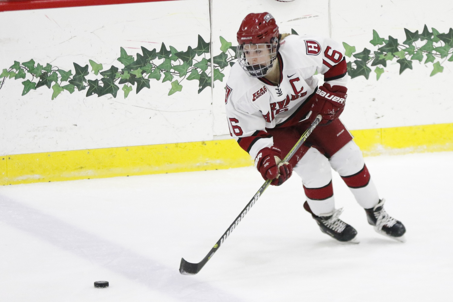 The Crimson will travel to upstate New York this weekend to face Colgate in the ECAC playoffs.