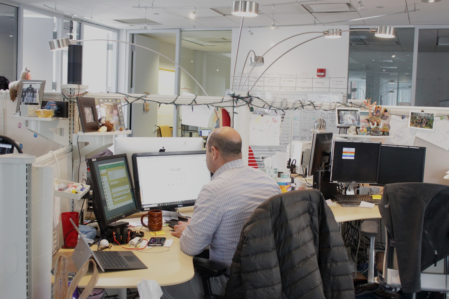 The Broad's dry laboratories are computational centers where laboratory results are analyzed for presentable results.