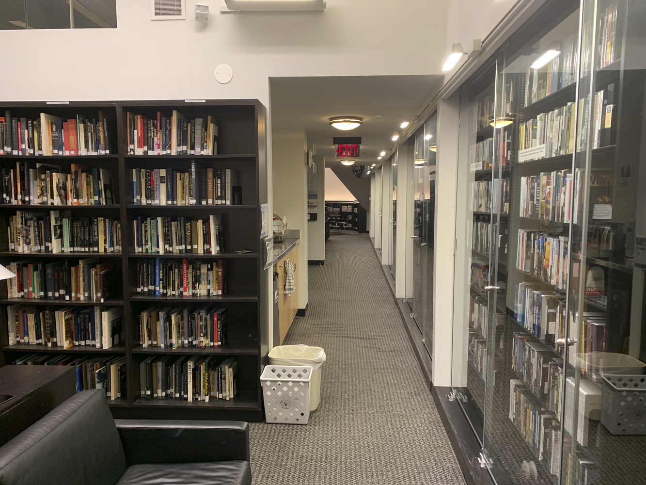 The fourth floor of Sever Hall houses the Visual and Environmental Studies department's film library. The Faculty of Arts and Sciences will discuss a potential change to the department's name.