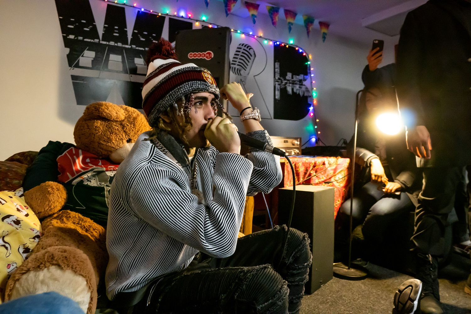 Harvard Radio Broadcasting — the student radio station commonly known as WHRB — invited rapper Lil Pump to their office earlier this month.
