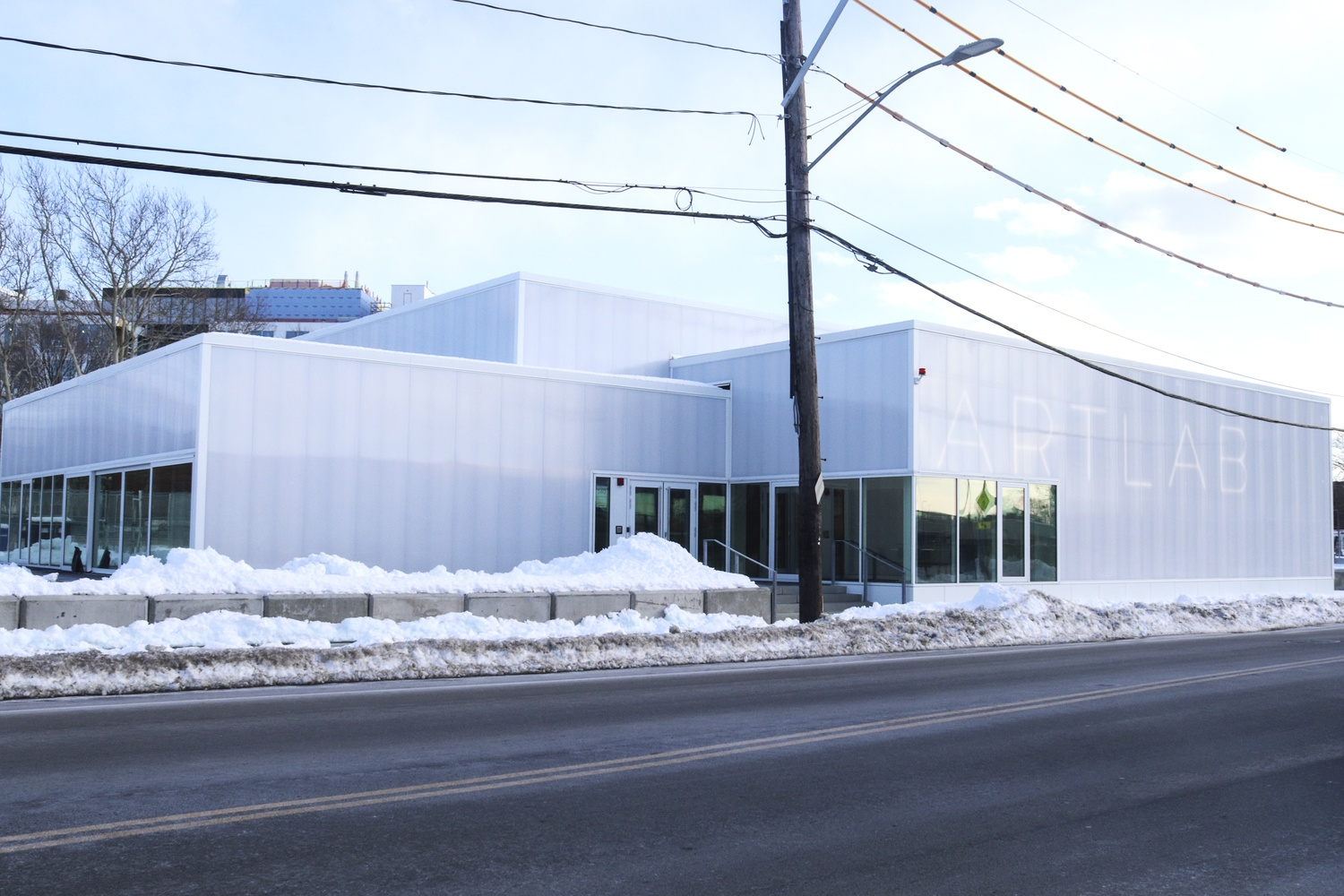 The ArtLab, a newly created center for arts innovation, is located on North Harvard St. in Allston.